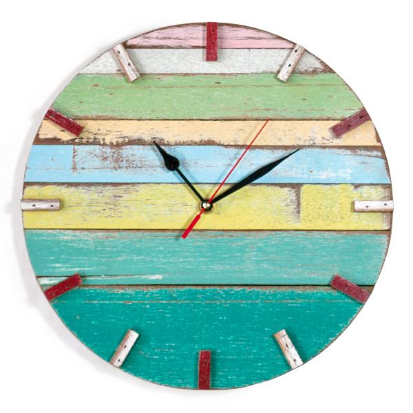 ... Wood Wall Clock (491561790), Decorative Wall Clocks & Reclaimed Wood