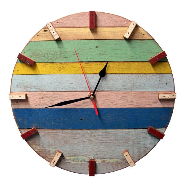 ... Wood Wall Clock (491561789), Decorative Wall Clocks & Reclaimed Wood