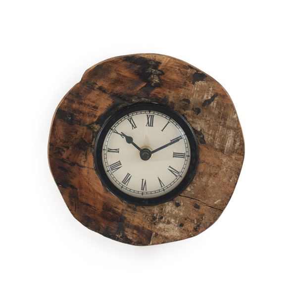 Wood Wheel Clock (491562162), Decorative Wall Clocks & Reclaimed Wood ...