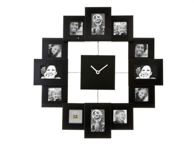 Photo Frame Clock - Family Time | DIY- Great Ideas | Pinterest