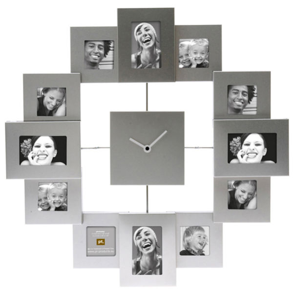 Family Time Photo Frame Clock | IWOOT