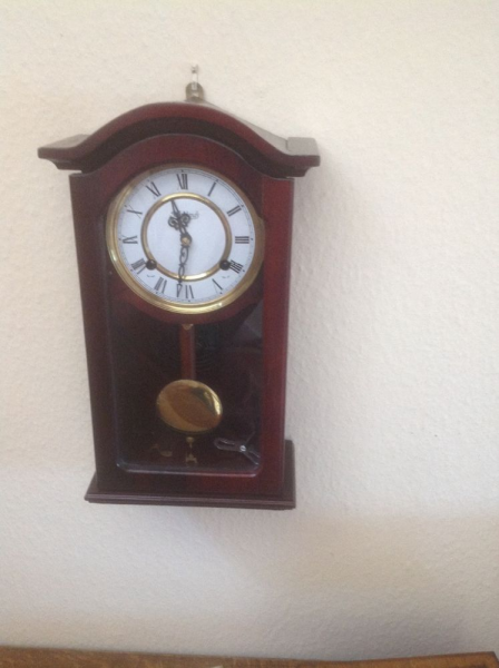 Pendulum (wall mounted) clock by Highlands. | eBay