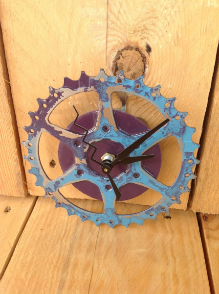 Wall Clock - Bike Chain Ring | Crafty Time | Pinterest