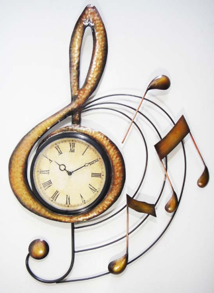 Wall Clock - Music Treble Clef