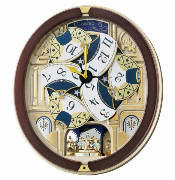Melodies in Motion Wall Clock by Seiko