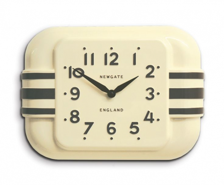 1950s style Odeon wall clock. | Clocks, Radios and Telephones | Pinte ...