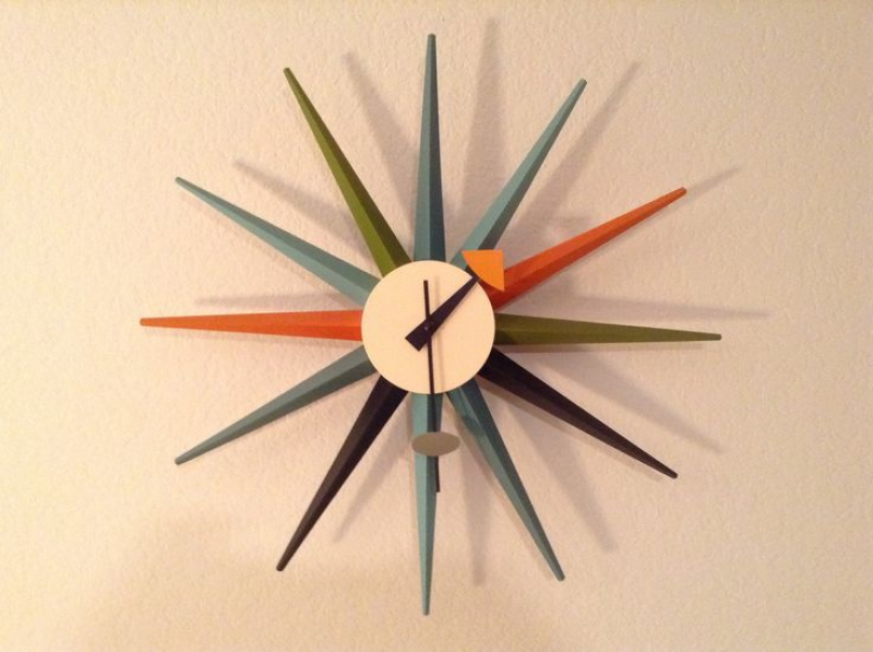 Great 1950s style wall clock | Beauty in design | Pinterest