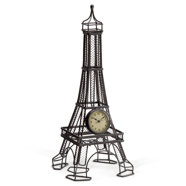 Home Accessories - Eiffel Tower Tabletop Clock