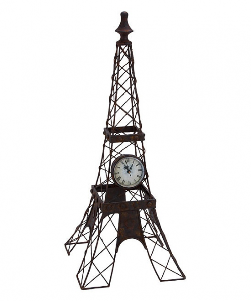 Eiffel Tower Standing Clock