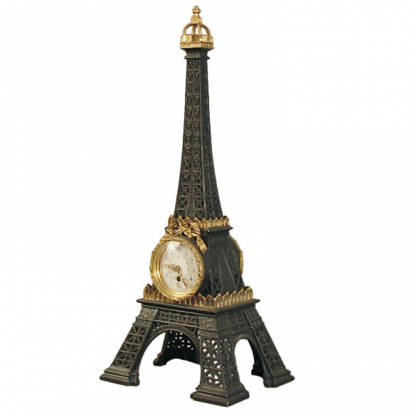 French Eiffel Tower Clock at 1stdibs