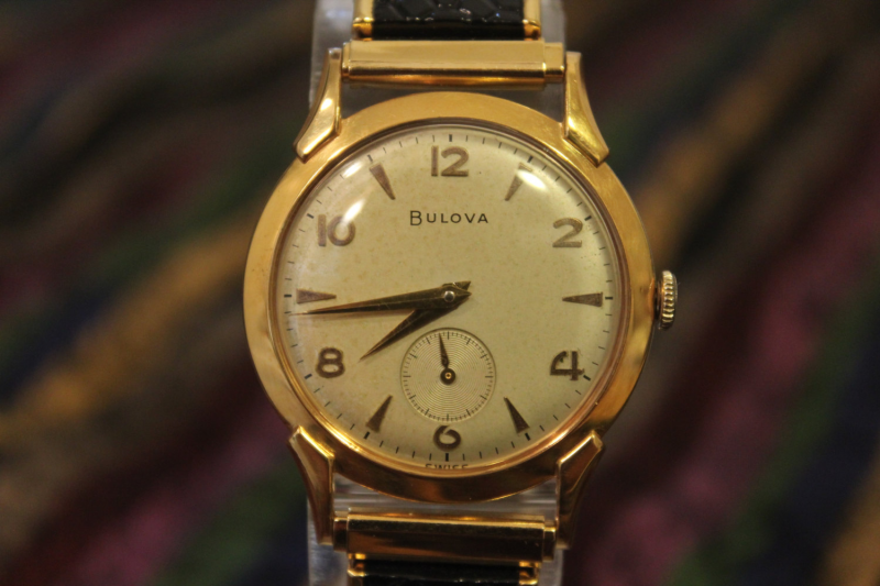 Vintage BULOVA 17Jewels L6 1956s Mechanical Hand by limardi