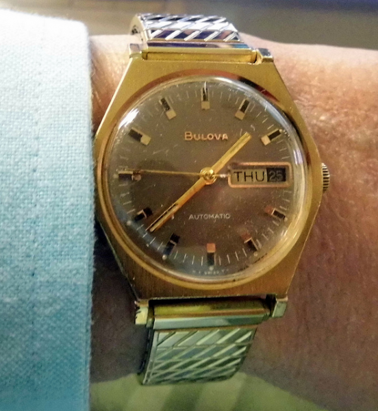 Vintage Bulova Automatic (Self-Winding) Watch, Swiss-Made | Flickr ...