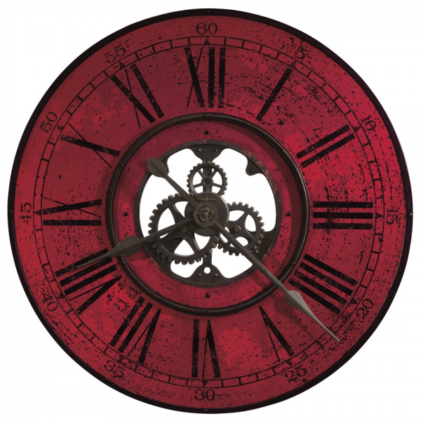Howard Miller wall clock 625-569 Brass Works II