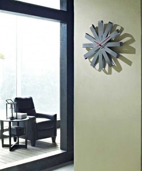 Take a look at this Ribbon Stainless Steel Wall Clock on zulily today!