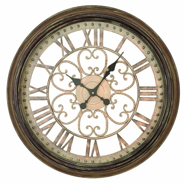 Hampton Metal Art Wall Clock : Compare Prices