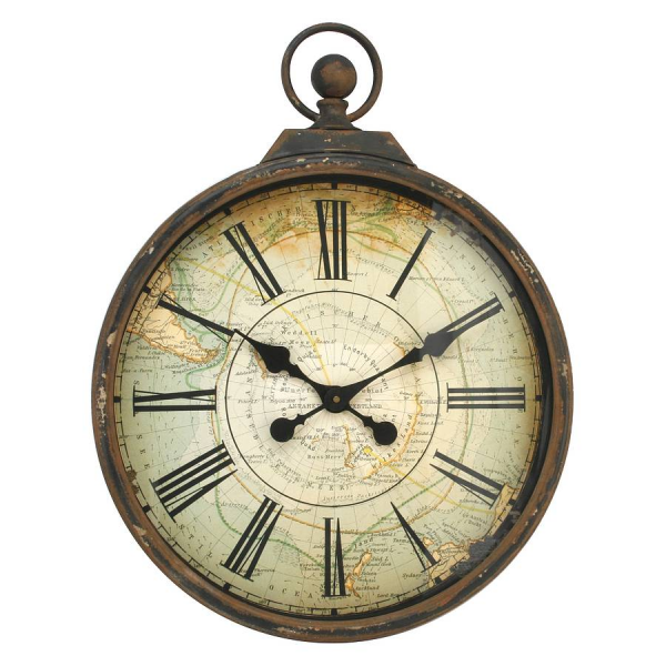 We're sorry, Antique Style Pocket Watch Large Wall Clock is no longer ...