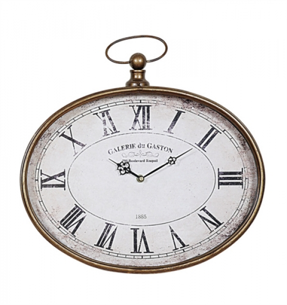 Metal Pocket Watch Wall Clock