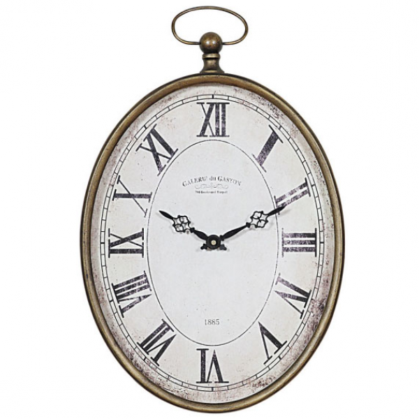 Pocket Watch Wall Clock from Creative Co-op