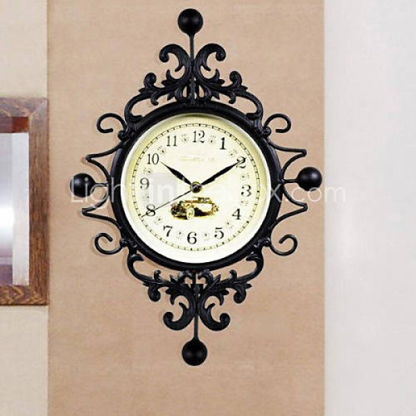 60 Europa Style Retro Iron Wall Clock | Vintage fans and Objects Ret ...