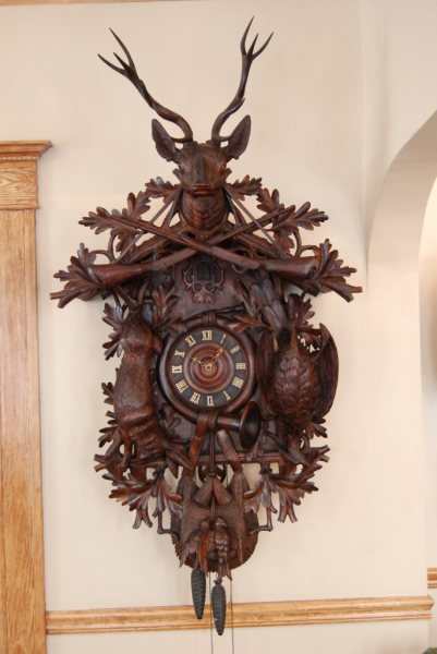 ... Foot Antique Black Forest Cuckoo Clock For Sale | Black Forest Clocks