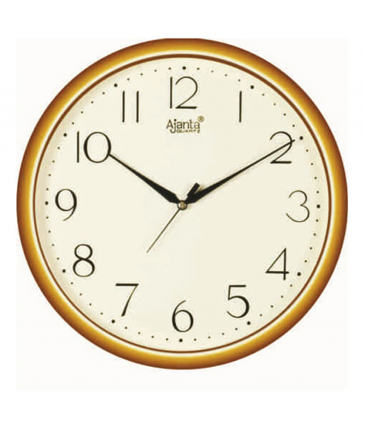 Buy Ajanta Ivory Round Wall Clock @ Best Prices | Snapdeal