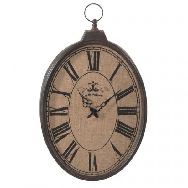 CBK Burlap Pocket Watch 16'' Wall Clock - Walmart.com
