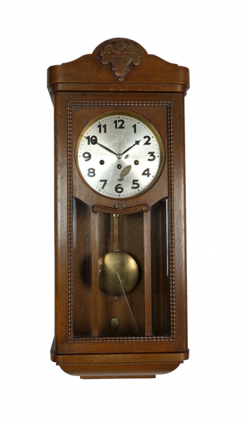 Antique German Junghans Westminster Chime Wall Clock at 1900 1910 ...