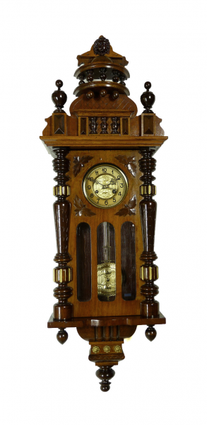 Details about Beautiful Antique German Kienzle wall clock at 1900