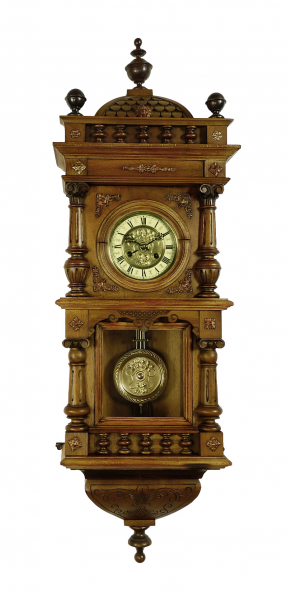 ... about Beautiful Antique German Friedrich Mauthe wall clock at 1900