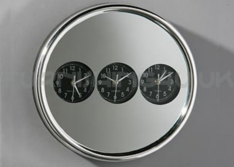... time zone round and stylish wall clock 2200372 stylish wall clock
