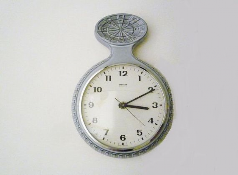Vintage German Ceramic Wall Clock from Mauthe by oppning on Etsy, € ...
