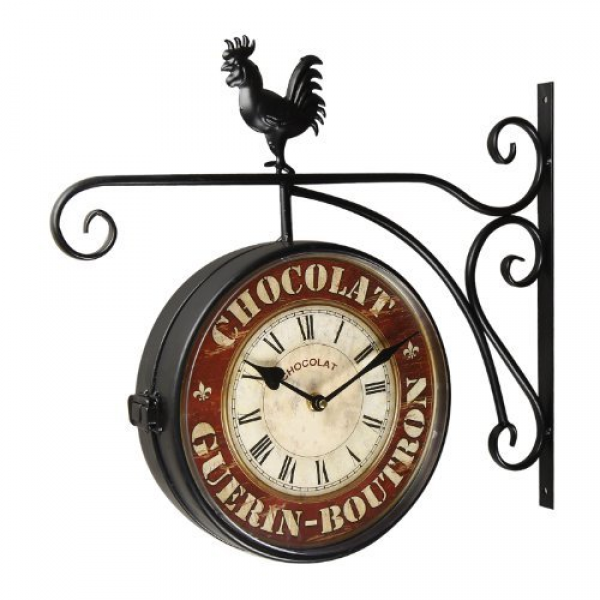 Double Sided Hanging Wall Clocks: Unique Wall Clocks - TOP-CLOCKS.COM