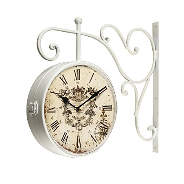 ... Wall Hanging Double Side Two...: Antique Wall Clocks - TOP-CLOCKS.COM