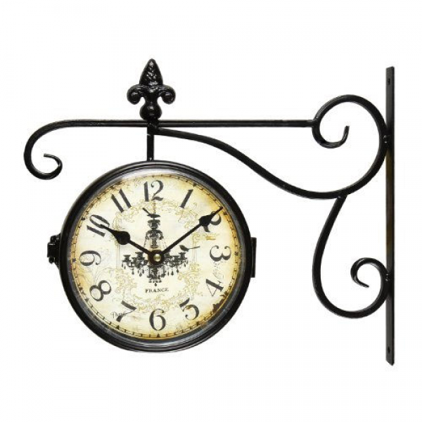 ... Wall Hanging Clock with Scroll Wall Mount Home Decor | Flickr - Photo