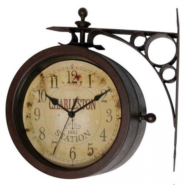 ... Instruments 8 Two Sided Charleston Wall Clock & Reviews | Wayfair