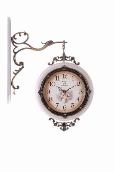 Solid Wood Antique Double Sided Wall Clocks home decorations