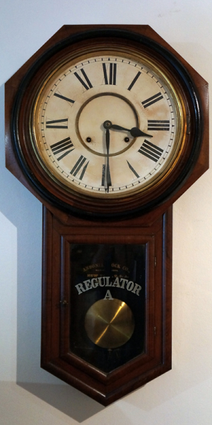 antique regulator wall clocks Book Covers