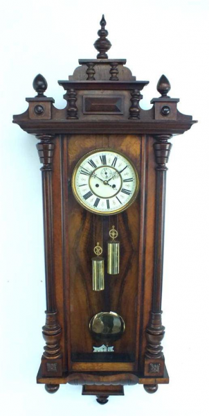 Regulator Wall Clock Vienna Clock Antique Clocks | eBay