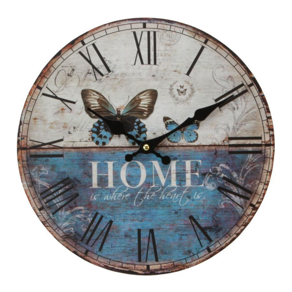 ... from the Hometime Vintage collection. | Wall Clocks | Crusader Gifts