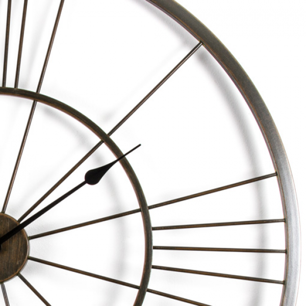 Iron Lines Giant Wall Clock | Australia | Purely Wall Clocks