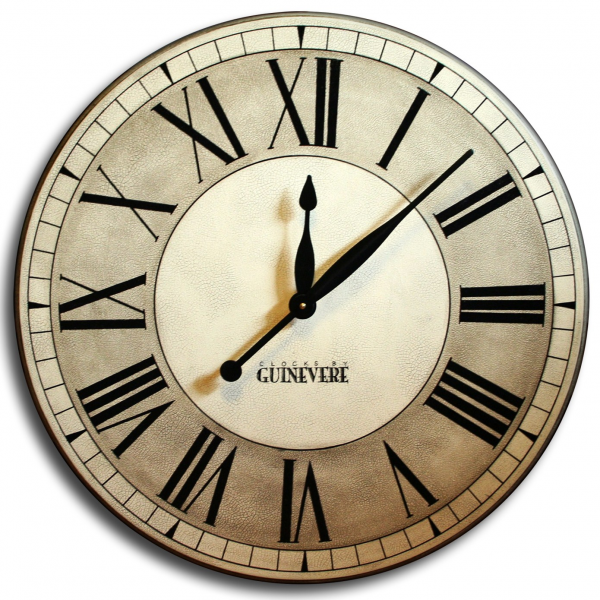 Home / Shop / Category / Handpainted Clocks / Oxford Linen Clock