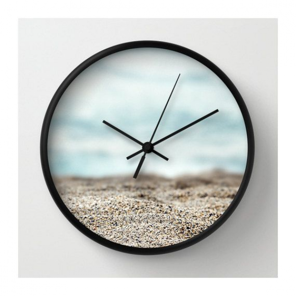 Abstract Seascape Wall Clock. on Etsy, $45.00