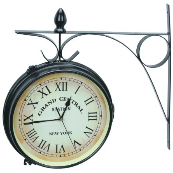 ... Double-Sided Railway Clocks | Train Station Clocks Headquarters