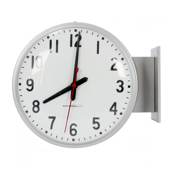 Double-Sided School Clocks - So That's Cool