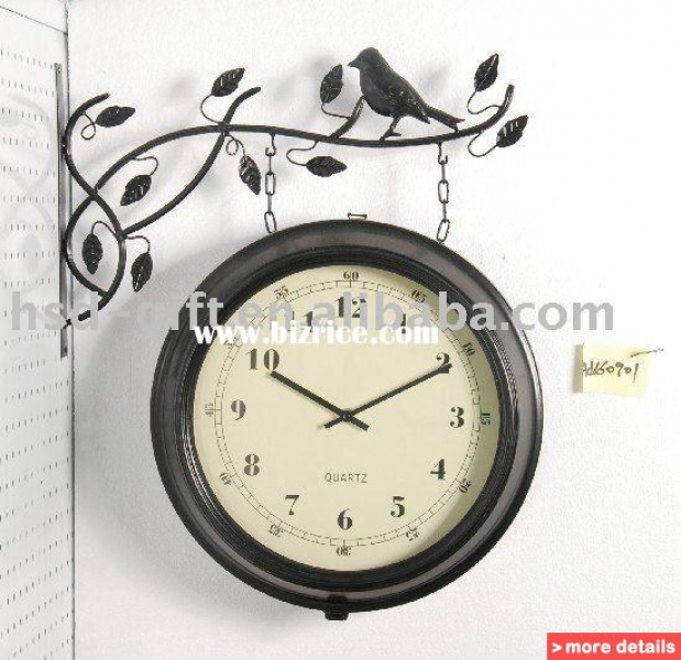outdoor double sided wall clock china wall clocks for sale