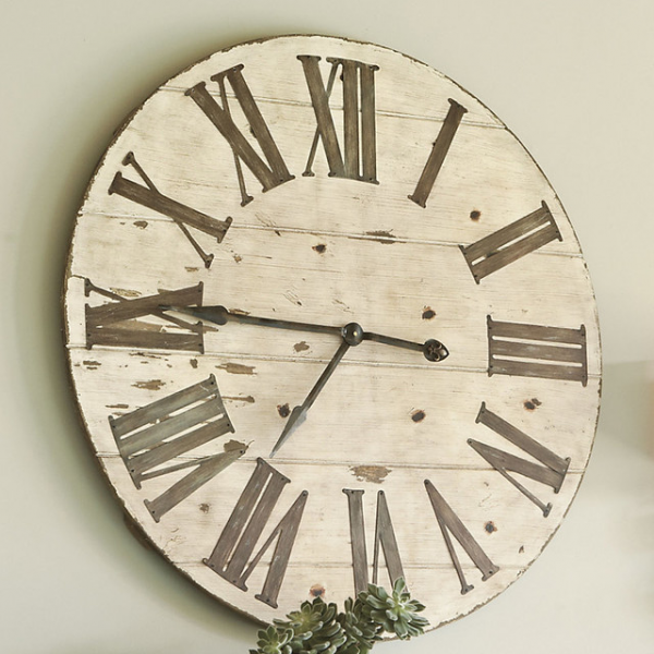 Lanier Wall Clock - Farmhouse - Clocks - by Ballard Designs