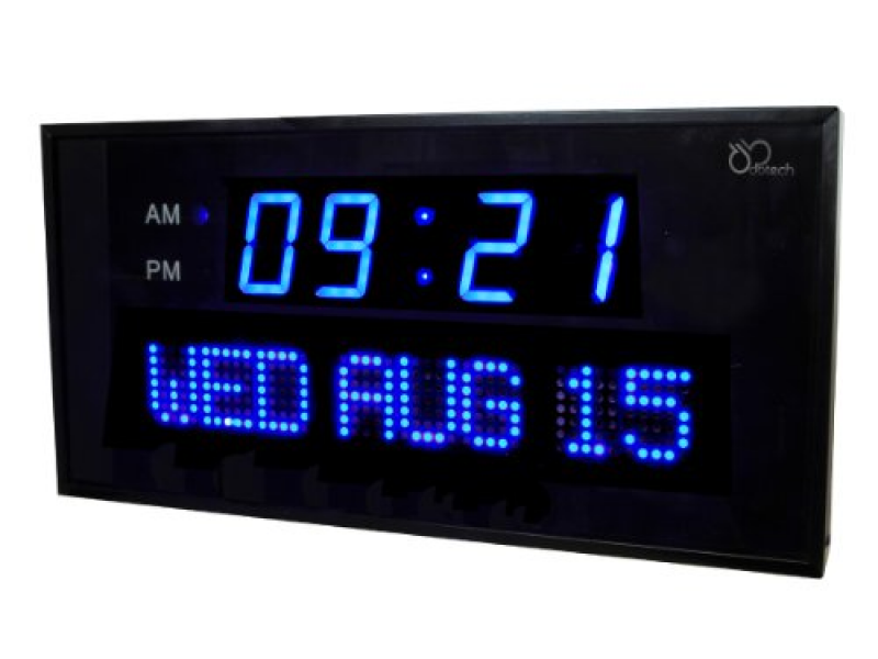 Buy them here for  DBTech Big Digital LED Calendar Clock with Day and ...