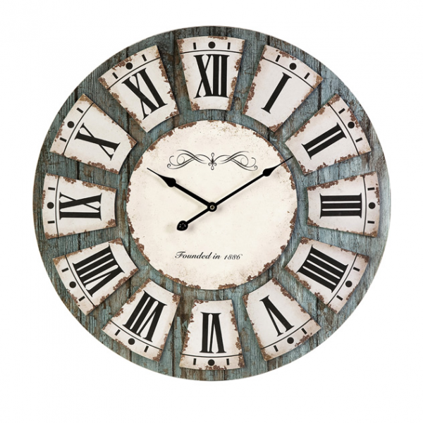 ... 75 Large Decorative Roman Numeral Design Unique Wall Clock Distributor
