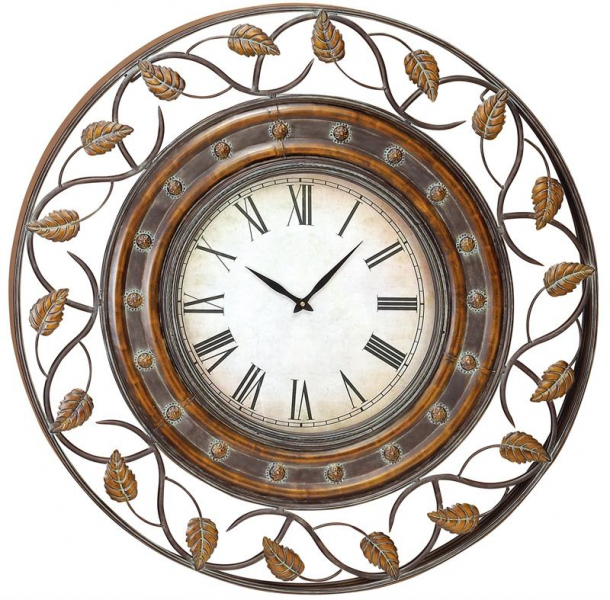 Large Wall Clocks > Wall Clocks > 36 Decorative Iron Wall Clock