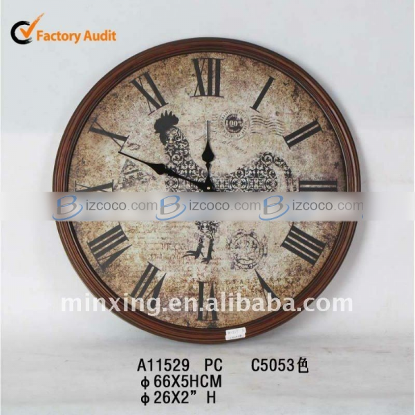 Large sale decorative wooden wall clock Price: USD 18.24 Min.Order: 50 ...